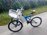 Велосипед триколісний вантажний електровелосипед кастом 350w в єдиному екземплярі Київ