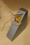 Трикутний акумулятор Li-ion 48V 18Ah для електровелосипеда 13s6p з БМС Київ